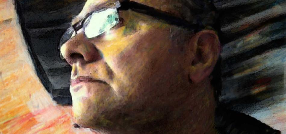 Bewerkt zelfportret 2012