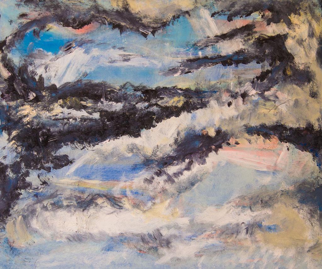 Imaginary Voyage, 120×90, 2007, acrylic on canvas