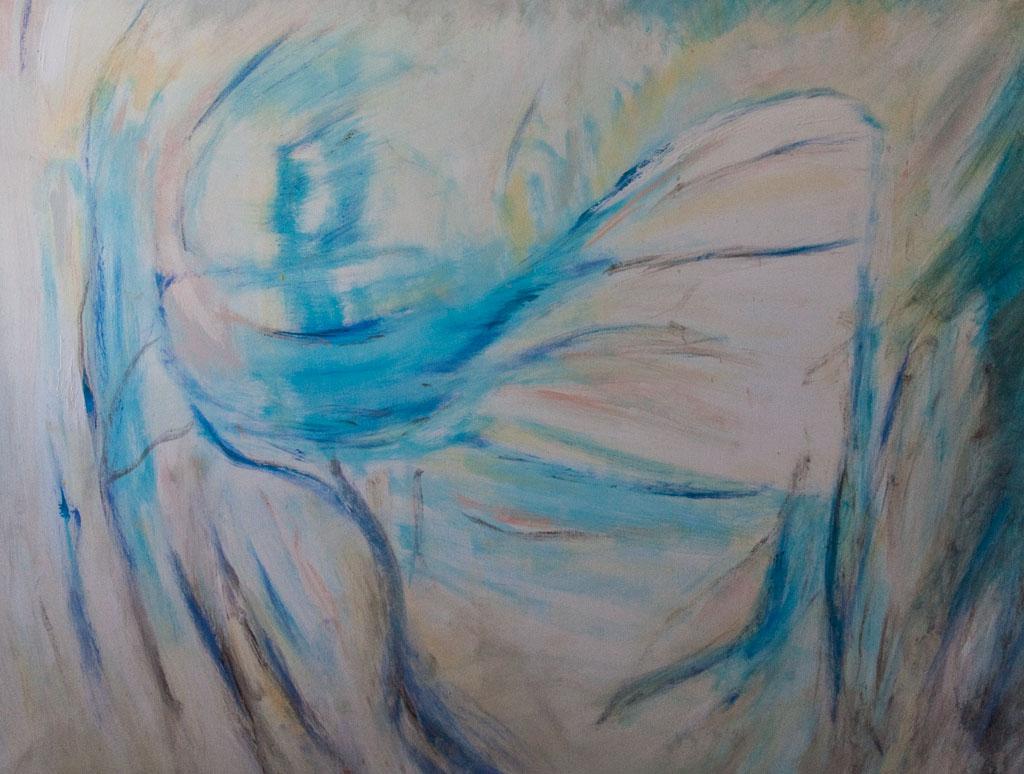 Untitled 2007, 160x120, acrylic on canvas