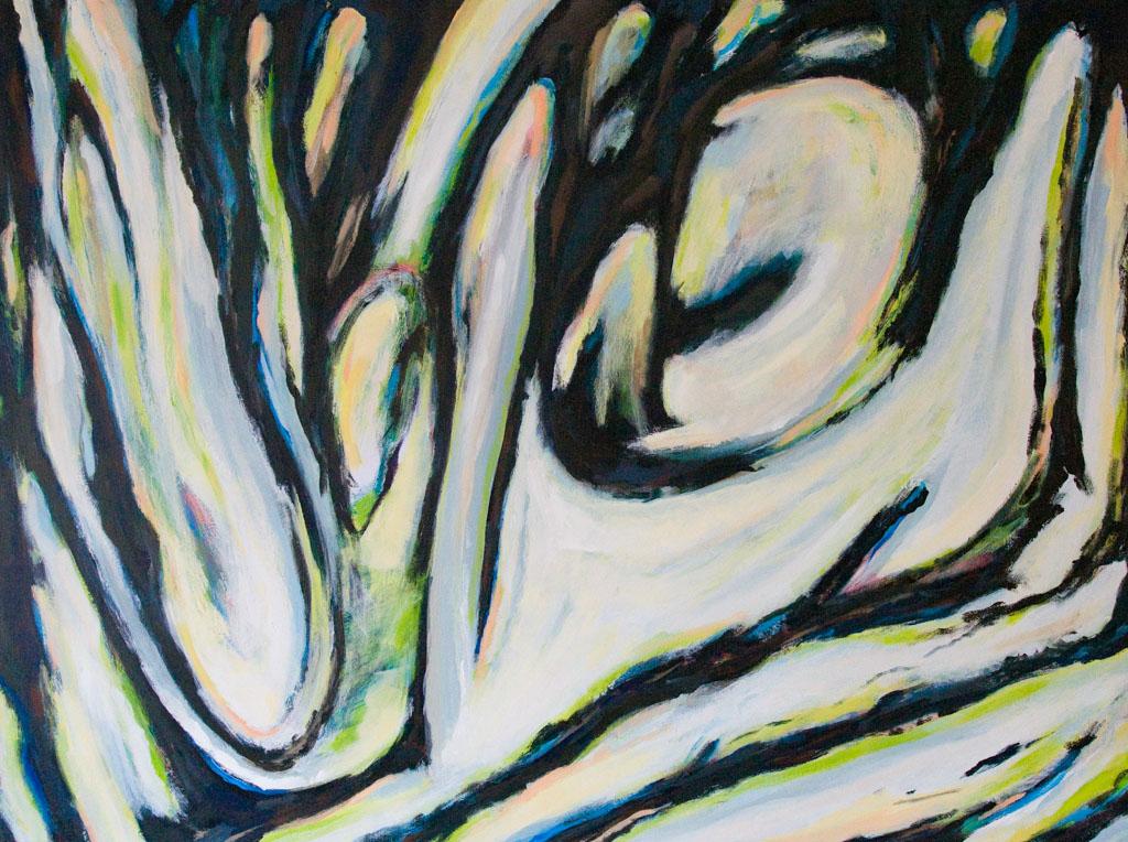 Play Time 2007, 160x120, acrylic on canvas