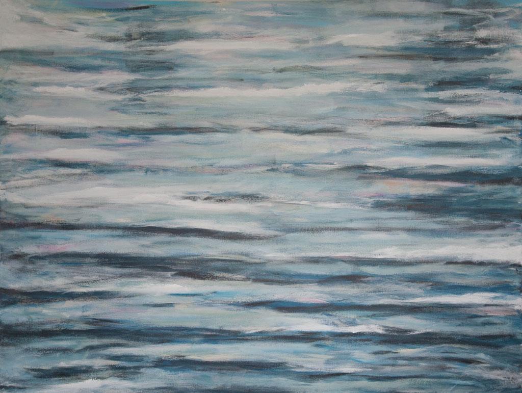 Meditation 2008, 160×120, acrylic on canvas