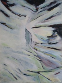 Ikarus Dream 2009, 120×160, acrylic on canvas