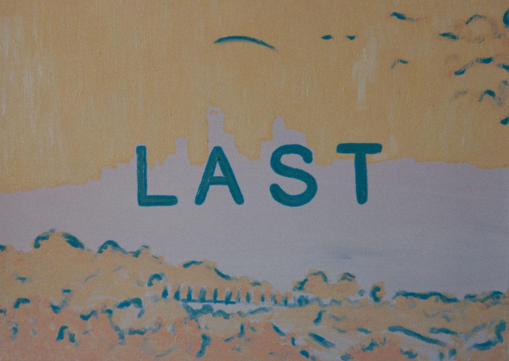 Last 1988, 60×40, acrylic on canvas
