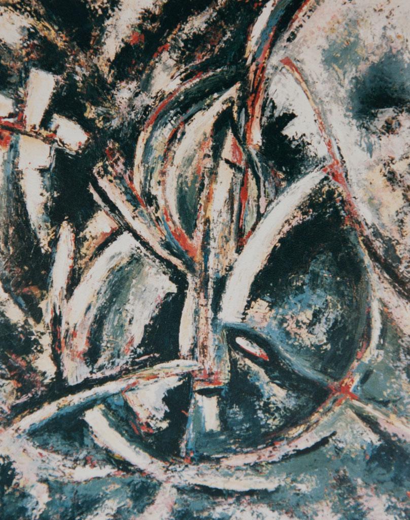 Gaia 1986, 68x84 oil on panel