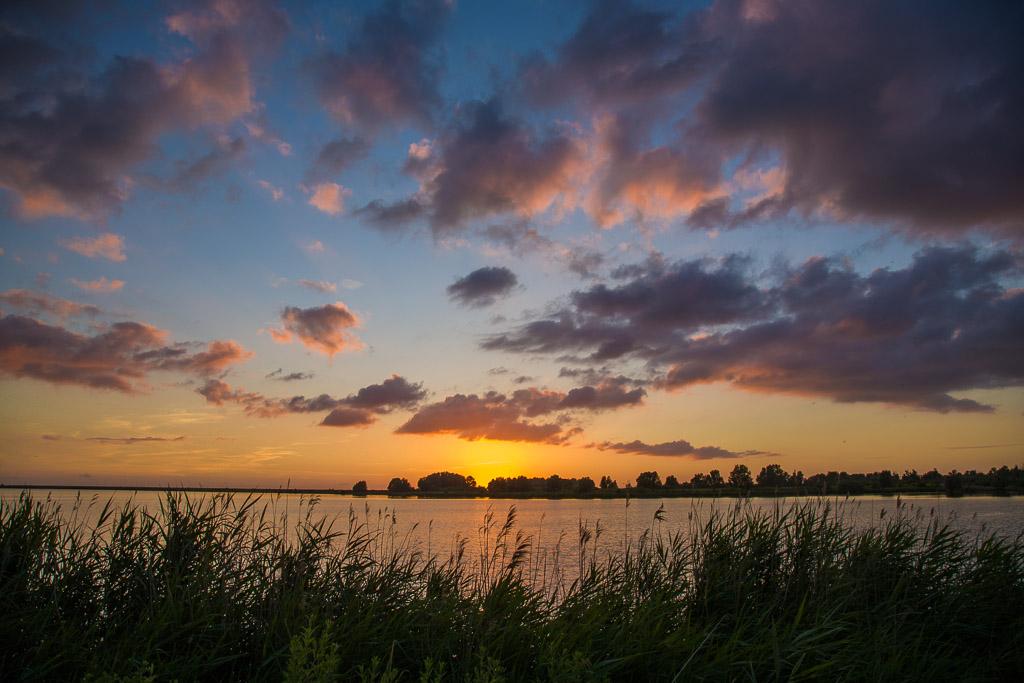 Sunset Almere
