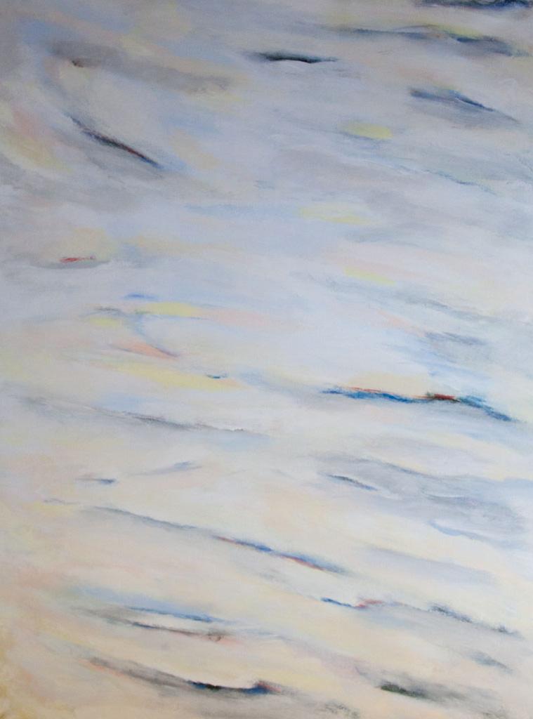 On the way 2010, 120×160, acrylic on canvas